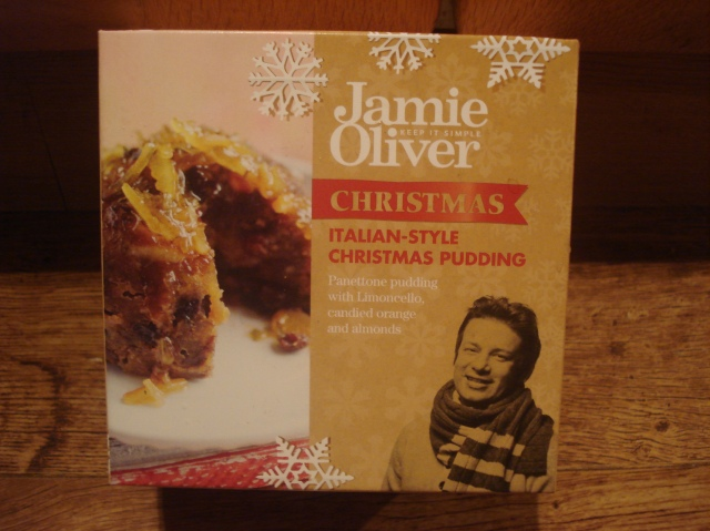 Jamie Christmas Pud Packaging