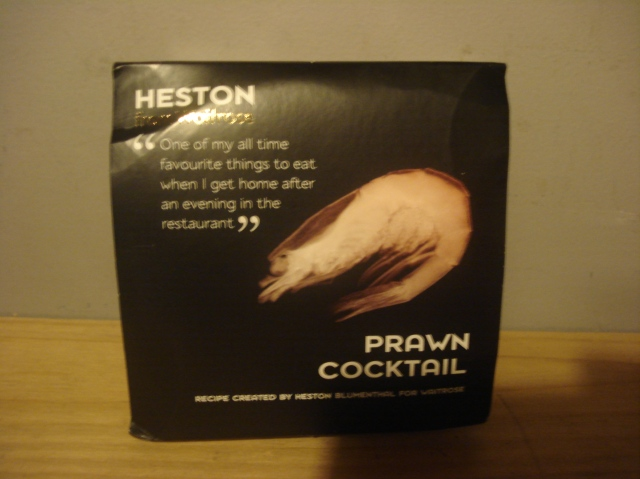 Heston Prawn Cocktail Box